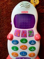 Telefon ,,pingwinek Fisher price