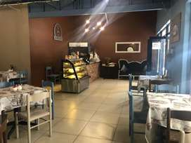 Almost new coffee shop for sale!