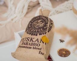 Кофе в зернах Tuskani. З-х кратный победитель CUP OF EXELLENCE, кава