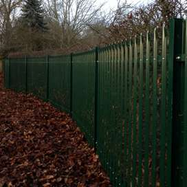 Pallisade fence and gates pictures