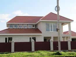 Новый дом без отделочных работ