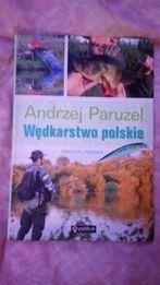 Wędkarstwo polskie Andrzej Paruzel książka jak nowa