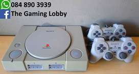 PlayStation One and 2 Controllers
