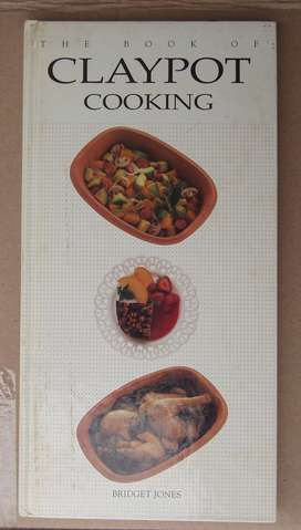 Claypot Cooking by Bridget Jones 1993 Hardcover Cookbook