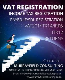 Shelf companies with VAT; Accounting and Tax services