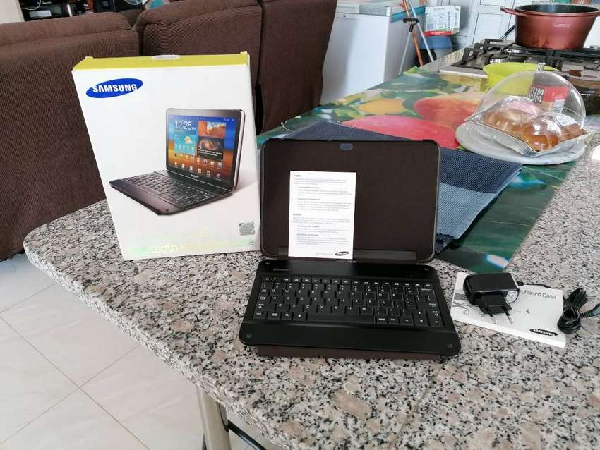 Keyboard and case for Samsung tablet