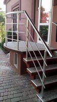 Алюминиевые перила, ограждения, поручень ПВХ. Лестницы металлические.