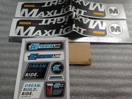 Велосипедные наклейки Kinesis MaxLight