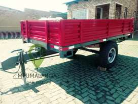 Single &double axle trailer