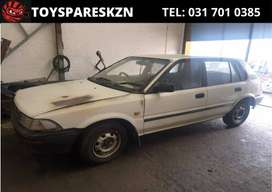 1990 Toyota Conquest Stripping