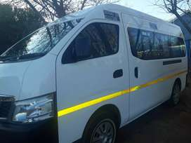 Selling a Nissan NV 350 Impendulu 16 Seater