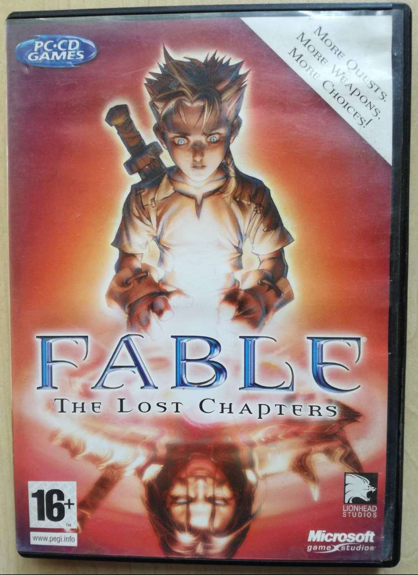 PC CD GAME FABLE THE LOST CHAPTERS RPG ACTION ADVENTURE 0