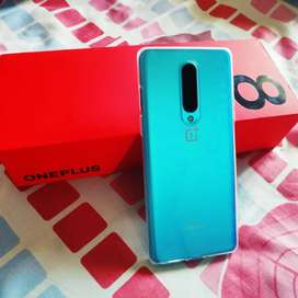 OnePlus 8 Green 6GB 128GB curved screen Mobile Phone
