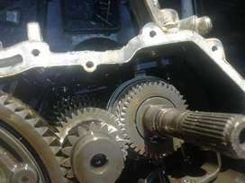 Polo vivo stripped gearbox parts for sale,problem was the gear no 1