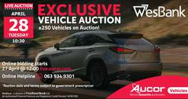Boost Event WesBank Exclusive Vehicle Auction