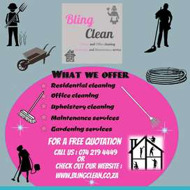 Residential and Business Cleaning