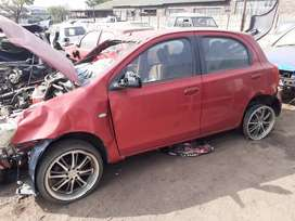 Toyota etios 2nr 1.5 striping for parts