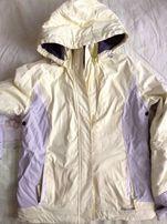 Лыжная куртка лимонного цвета