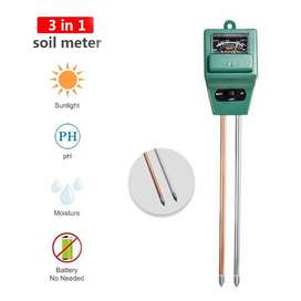 Quality 3 in one PH soil tester, Moisture and Light meter available