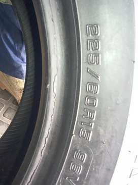 TYRES GOOD Quality of about 90%