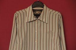 Tommy Hilfiger рр L (M по бирке) рубашка из хлопка оригинал
