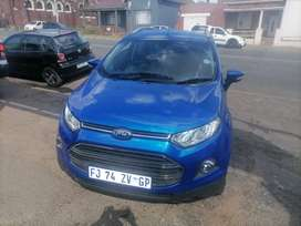 2016 Ford Ecosport 1.6 Titania Automatic with a leather seat
