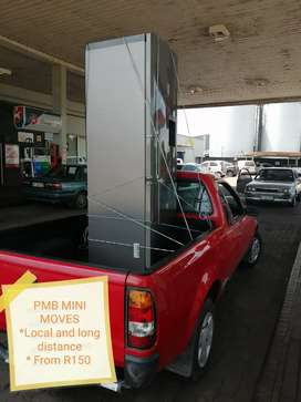 1/2 Bakkie with driver for hire