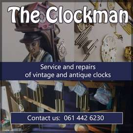 Antique Clock and Gramophone repair and service.