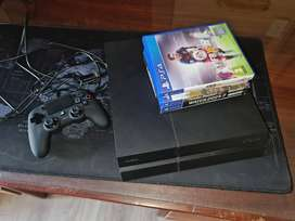 Playstation 4 (PS4) 1 TB COMBO with 4 games included AND BRAND NEW Nac