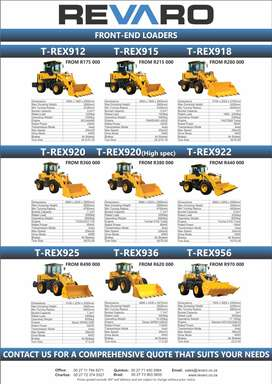 Revaro Front end loaders