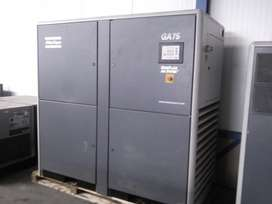 Atlas copco screw compressor