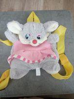 """Детский рюкзак игрушка """" Мышка """""""