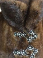 Продам норковую шубу, длина 115 см, Saga Mink, размер m, 46-48