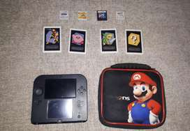 Nintendo 2DS + 4 Games For Sale!