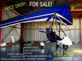 Stunning Antares Microlight for Sale