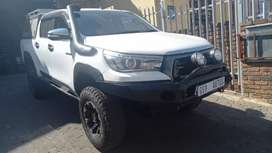 2017 Toyota Hilux 2.8 GD6 Double Cab 4x4 Raider Automatic for sale.