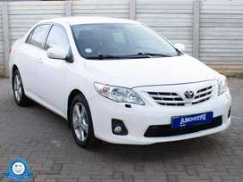 TOYOTA COROLLA 2.0 EXCLUSIVE A/T R179,900