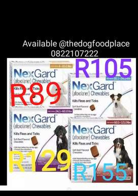 Nexguard for tick and fleas on dogs