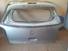 Vw polo bootlid and door