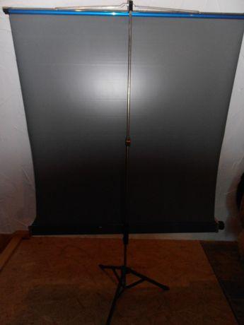 Ekran do projektora Reflecta, projektor,statyw Koszalin - image 5