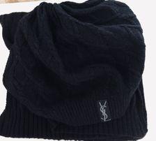 Берет и шарф YSL ( копия)отличное качество