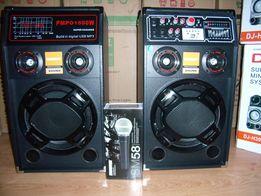 Акустическая система TEMEISHENG DP-BT(USB/FM/Bluetooth)караоке,400W