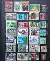 Znaczki pocztowe -zestaw ANGLIA -każdy inny