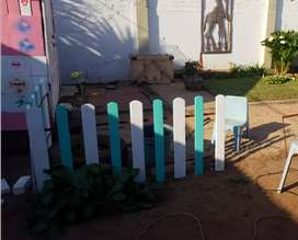 Picket fence any colour any size