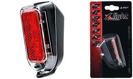 Lampka tył X-LIGHT XC-231 NA BŁOTNIK 2 LED baterie