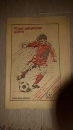 Zeszyt Futbol Ekspres 1983 rok