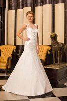 Cвадебное платье от модного дома Valentina Gladun!фата,перчатки в пода