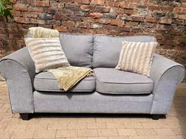 Grey 2 seater couch