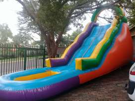 Wafe Slide Very Big Jumping Castle