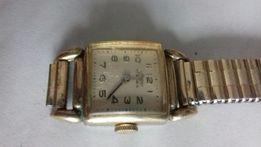 Zegarek damski Mars złocony pozłacany 20 mikronów sprawny